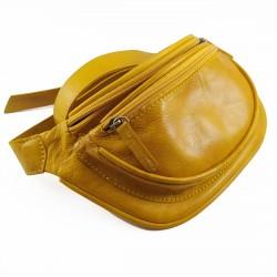 Riñonera Tintada Color Amarillo 002