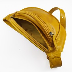 Riñonera Tintada Color Amarillo 005