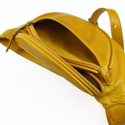 Riñonera Tintada Color Amarillo 006