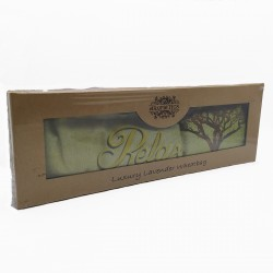 Bolsa de trigo en caja de regalo usado para terapias alternativas, con olor a lavanda puede usarse en frío y caliente 003