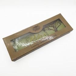 Bolsa de trigo en caja de regalo usado para terapias alternativas, con olor a lavanda puede usarse en frío y caliente 004