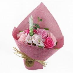 Ramo de Flores de Jabón Rosa