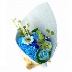 Ramo de Flores de Jabón Azul 001